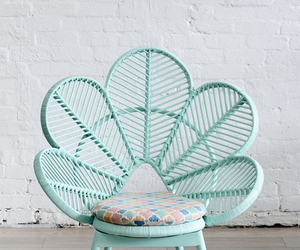 chair, blue, and mint image