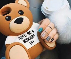 case, nails, and bear image