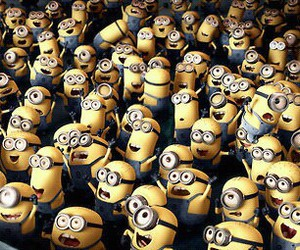 minions, despicable me, and yellow image