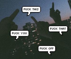 grunge, night, and speech bubble image