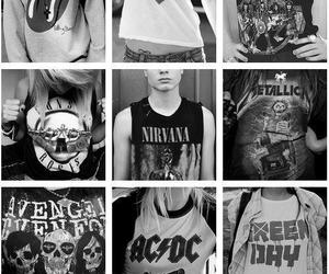 ac dc, Guns N Roses, and metallica image