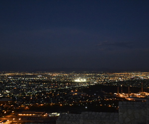 city, luces, and night image
