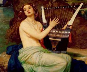 ancient, mythology, and nymph image