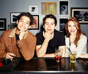 teen wolf, tyler posey, and holland roden image