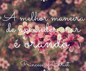 dEUS, oração, and princess of christ image