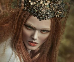 crown, fairy, and nature image