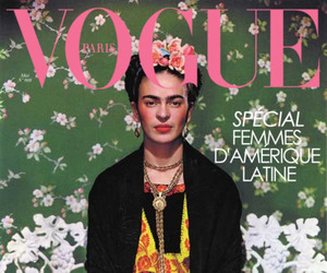 vogue, frida kahlo, and art image