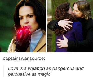 once upon a time, evil queen, and rumple image