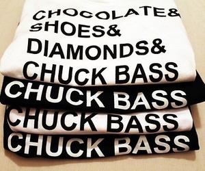 chuck bass, diamond, and chocolate image