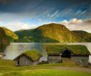 lake, norway, and place image