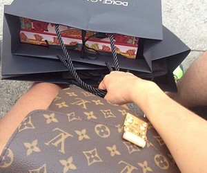Louis Vuitton, shopping, and fashion image
