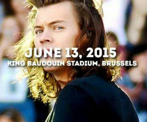 Harry Styles, one direction, and brussels image
