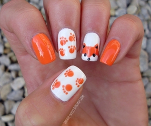 fox and nail art image