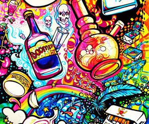drugs, weed, and colors image