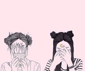 tumblr, grunge, and drawing image