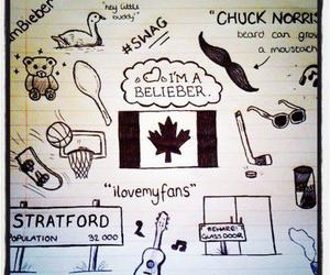 justin bieber, belieber, and canada image