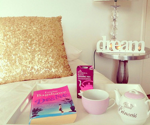 Dream, pink, and girly image