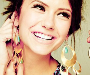 Nina Dobrev, smile, and nina image
