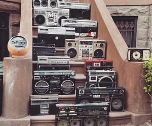 90s, radio, and stairs image