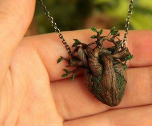 heart, love nature, and pendant image