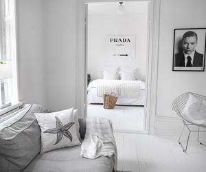 interior, Prada, and white image