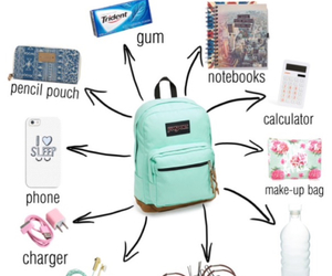 school, bag, and tutorial image