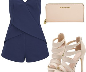 outfit, Polyvore, and romper image