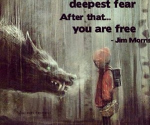 brave fear freedom image
