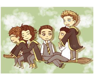 one direction and harry potter image