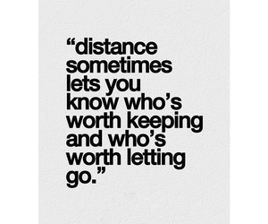 quote, distance, and text image