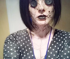 coraline, cosplay, and Halloween image
