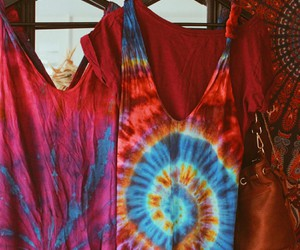 bohemian, colors, and dress image