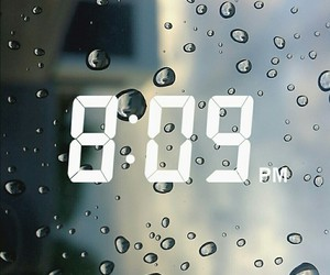 blue, clear, and clock image