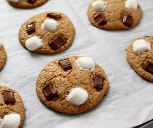 Cookies, chocolate, and marshmallow image