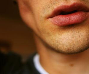 boy, lips, and Hot image