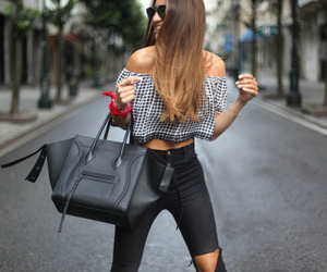 chic, clothes, and denim image