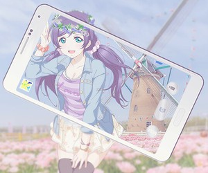 cute anime girl, love+live, and nozomi+tojo image