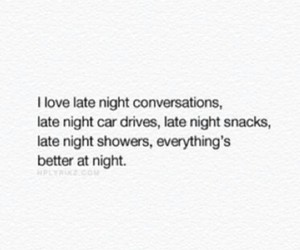conversation, late night, and night time image