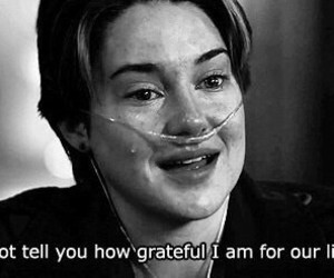the fault in our stars, infinity, and tfios image