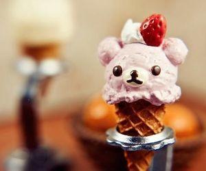 cute, ice cream, and food image