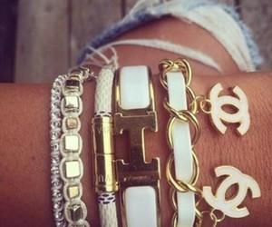 chanel, bracelet, and hermes image