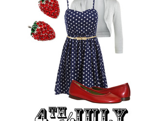4th of july, fashion, and outfit image