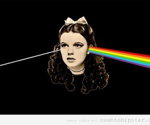 Pink Floyd, rainbow, and dorothy image