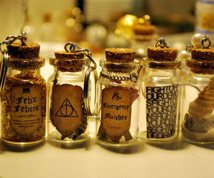 harry potter, potion, and magic image