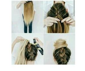 hair, beautiful, and diy image