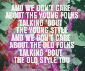 oh my dior, young folks, and song image