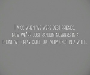 best friends, remember, and sad image