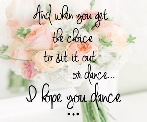 dance, poster, and quote image