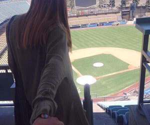 baseball, couple, and love image