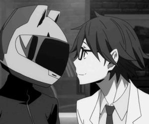 anime, gif, and durarara image